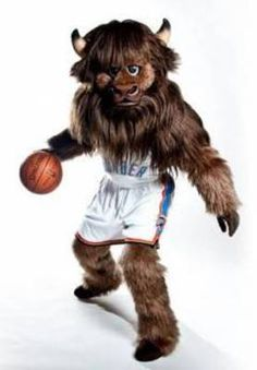 Rumble the Bison, Oklahoma City Thunder