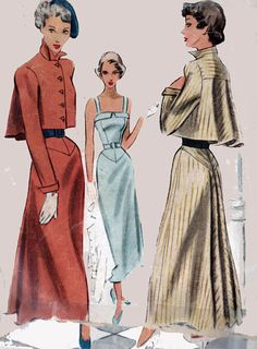 1940s Swing Era Vintage Sewing Pattern McCalls 7515 by sandritocat, $65.00