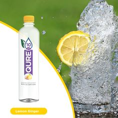 Introducing the first ever Ionized Water with Flavors! Refresh, Renew and Revitalize with our New Flavors - Cucumber Mint, Lemon Ginger, Watermelon Kiwi. Best Flavored Water, Coconut Water, Juice, Lemon, Drinks, How To Make, Food, Agua De Coco, Beverages