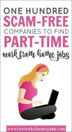 I've made a list of 99 work at home jobs with flexible, part-time ...