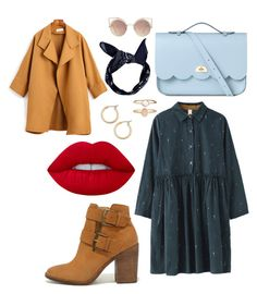 """Light"" by eglealfano on Polyvore featuring Steve Madden, The Cambridge Satchel Company, Boohoo, MANGO, Accessorize, Nordstrom and Lime Crime"