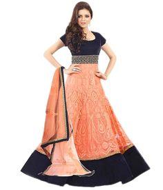 Suits Online Shopping, Punjabi Fashion, Anarkali Suits, Tie Dye Skirt, Orange Color, Indian, Skirts, Stuff To Buy, Pakistani