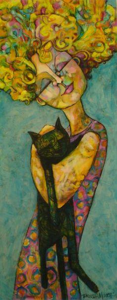Teresa Mundt - Love is a Big Black Cat