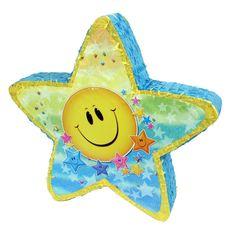 Smiley Face And Star Pinata
