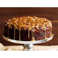 Sticky date pudding recipe - By Australian Women's Weekly, Add a delicious crunch to the classic sticky date pudding with roasted nuts.