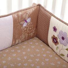 Baby girl bedding (Cater's Garden Party)