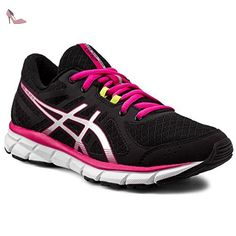 Gel-Phoenix 8, Chaussures de Gymnastique Femme, Rose (Cosmo Pink/Silver/Black), 36 EUAsics
