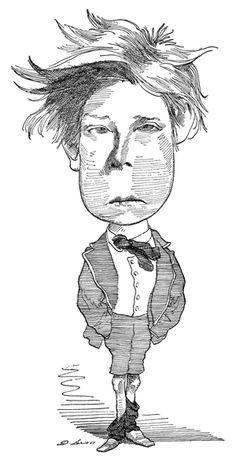 Arthur Rimbaud by David Levine