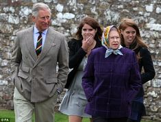 Prince Charles insists Beatrice and Eugenie don't deserve full-time royal status   Daily Mail Online