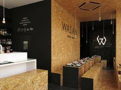 Imagem 11 de 16 da galeria de Wasabi Sushi Bar / CAVE. Fotografia de Joana Torre do Valle