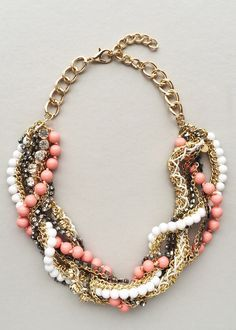 Marie Antoinette Clusters Statement Necklace – Pree Brulee