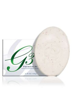 Premium G3 Beauty Soap - Organo Gold's beauty soap has a special hypoallergenic formula that not only cleanses and moisturizes the skin, but also boasts the power of antioxidant-boosting ingredients such as glutathione, grape seed oil, and organic Ganoderma lucidum. The result is youthful, glowing skin that looks more radiant than ever.