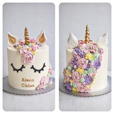 Resultado de imagen de unicorn cake
