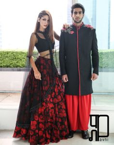 couture_attire Checkout this awesome red and black lehenga choli contains bhagalpuri silk made black blouse , net dupatta and silk made red lehenga Available for just 1699 ₹ + Shipping For order call / whatsapp : 9054562754 Indian Attire, Indian Wear, Pakistani Outfits, Indian Outfits, Shrug For Dresses, Dress Up, Sari Dress, Lehenga Choli, Anarkali