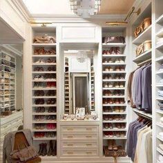 this is what a lady's closet should be....