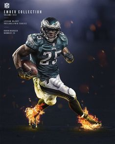 NFL - Ember Collection by Alex McLeland, via Behance