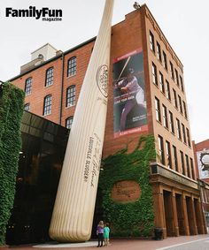 Louisville Slugger Museum & Factory in Louisville, KY: After this guided forest-to-field tour, you may never look at trees the same way again.