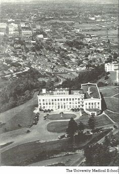 The UO Medical School in Portland 1935-36.  From the 1936 Oregana (University of Oregon yearbook).  www.CampusAttic.com