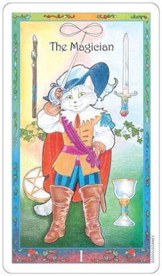 Whimsical Tarot published by U.S. Games Systems