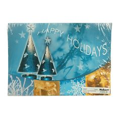 Sparkling Holidays 13.75 x 9.75 Placemats 100/Pack