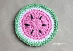 Crochet Fruit Coasters Pattern