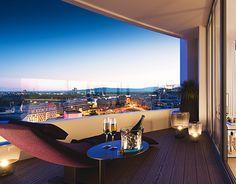 SKY PARK Residence by Zaha Hadid, visualizations by Talcik&Demovicova