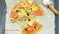 Pizza à Portuguesa...Great pizza for breakfast, lunch, or dinner!!!