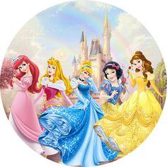 Mermaid Cupcake Toppers, Mermaid Cupcakes, Baby Princess, Princess Birthday, Walt Disney Princesses, Disney Characters, Fictional Characters, Disneyland Photos, Princess Party Decorations