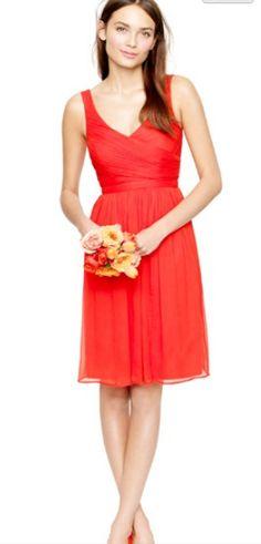 Like the dress -- bridesmaids