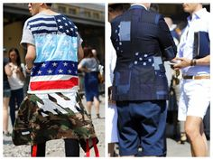 God Save the Queen and all: Milan Fashion Week Menswear: Street Style #menstyle #streetstyle #milanfashionweek
