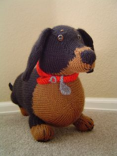 Knitted Dachshund Pattern : 1000+ images about knitting on Pinterest Knitting ...
