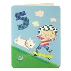 Boy Age Five Card
