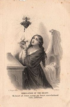Free Graphic - Antique Holy Card - The Graphics Fairy