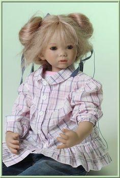 С именем звонким,как звон колокольчика.Tilly от Annette Himstedt. / Коллекционные куклы Annette Himstedt / Бэйбики. Куклы фото. Одежда для кукол