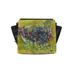 Vincent van Gogh Grapes Fine Art Painting Satchel Bag (Model 1635)