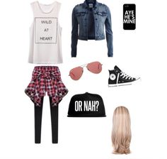 K.C Undercover outfit