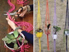 DIY : Macrame Plant Hanger « Element Eden Australia