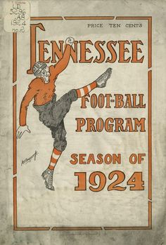 UT vs Carson-Newman (October 1924) - no, I wasn't there, but a reminder of bygone days.  And, my brother Jim went to Carson Newman in the 1960s.