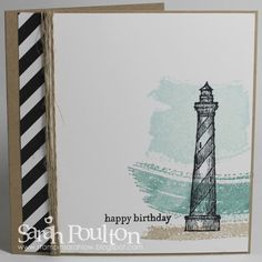 Stampin' Sarah!: Pinkies Annual Catalogue Blog Hop: A From Land to Sea Notecard Trio from Stampin' Up! UK Demonstrator Sarah Poulton