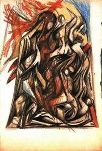 sin título - (Jackson Pollock)