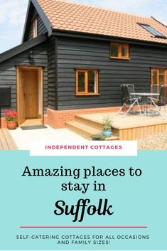 Choose from a great selection of 62 independently owned self catering holiday cottages in Suffolk, including cottages in Aldeburgh and Southwold Quirky Places To Stay, Best Places To Travel, Cool Places To Visit, Uk Holidays, Luxury Holidays, Independent Cottages, Suffolk Cottage, Character Cottages, Luxury Holiday Cottages
