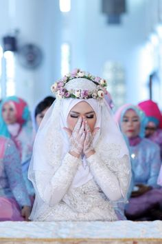 Dinda & Rafi Wedding by LAKSMI - Kebaya Muslimah & Islamic Wedding Service - 014