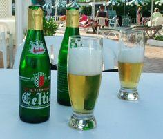 Celtia beer, popular in Tunisia