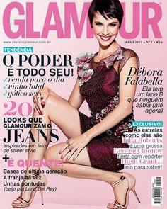 Choose Glamour Brazil September 2012 featuring Debora Falabella
