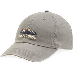 Life is good Chill Cap Lig Mountains Hat, Slate Gray, One... https://www.amazon.com/dp/B01K2PQU2Y/ref=cm_sw_r_pi_dp_x_ljINybGXJPT95