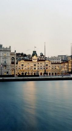 Trieste, Italy - slow shutter speed for glassy sea Beautiful Places In The World, Places Around The World, Oh The Places You'll Go, Places To Visit, Around The Worlds, Best Places In Italy, Best Of Italy, Trieste, Monuments