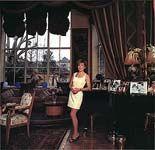 Mary Austin in Freddie's mansion