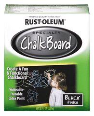 Sơn tạo bảng đen viết phấn Chalkboard Paint Misc Tạo bề mặt giống bảng đen (có thể viết và xóa được). Độ bền cao, khả năng chống trầy tốt. Bề mặt sử dụng được: gỗ, kim loại, bê-tông, bìa cứng, ... Giải pháp bảng viết cho: tường, cửa, bàn, bàn ping-pong, … 2 màu sắc để lựa chọn: Đen, Xanh lá.