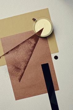 Nicky & Max's Bauhaus Series - food photography, seria inspirowana Bauhausem.