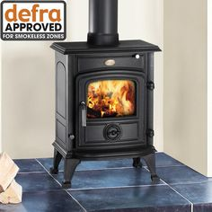 Clarke Wentworth Cast Iron Wood Burning Stove – DEFRA Approved - Machine Mart - Machine Mart